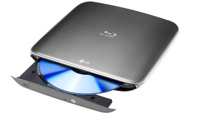 LG's first portable Blu-ray Rewriter ODD model BP06LU10