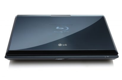 The LG Network Blu-ray Disc Player model BP650 when closed