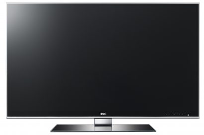 Front view of the LG Smart TV