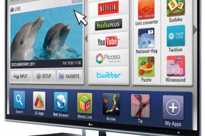 The LG Home Dashboard for LG Smart TVs