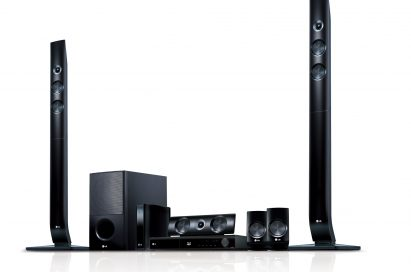 LG Network Blu-ray Disc Home Theater System model LHB976