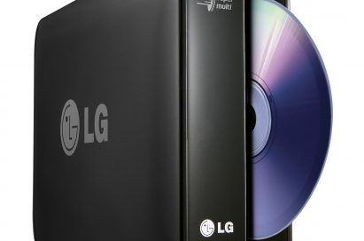 The LG 1TB network storage device with a DVD rewriter model N1T1