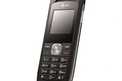 Front view of the LG Anna in black