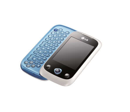 The LG ETNA 11 with blue slidable keyboard open