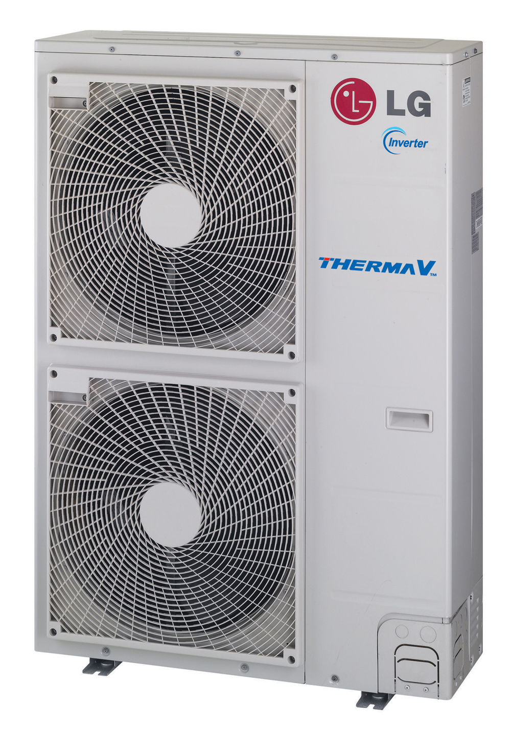 Outdoor unit of LG's Therma V commercial air conditioning solution
