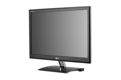 Front view of LG's D237IPS monitor facing 15 degrees to the left