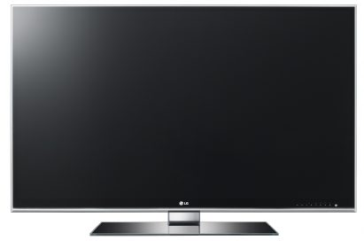 A front view of LG 3D TV model LW980S