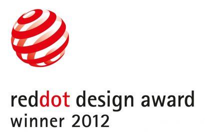 Certificate logo for winners of Reddot Design Award 2012
