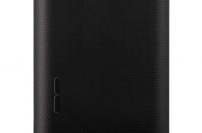 Rear view of the LG OPTIMUS L5 smartphone