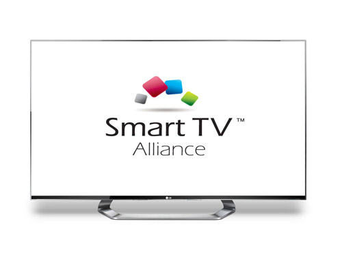 Logo of Smart TV Alliance.