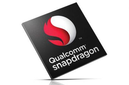 Logo of Qualcomm snapdragon.