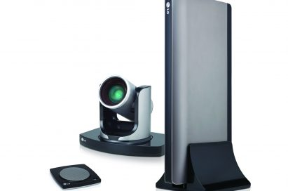 A right-side view of LG video conference system model VR5010H