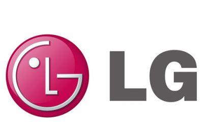 The logo of LG Electronics
