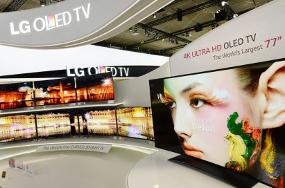 LG is showcasing the 77-inch ULTRA HD OLED TV at IFA 2013