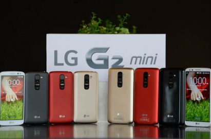 LG G2 mini comes in 4 colors.