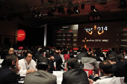 LG's business partners, distributors and retailers attend an InnoFest roadshow presentation