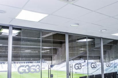 LG Multi V in a room at the stadium.