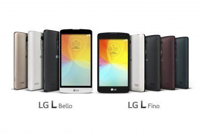 New L Series smartphones unveiled at IFA 2014, the L Fino and L Bello.