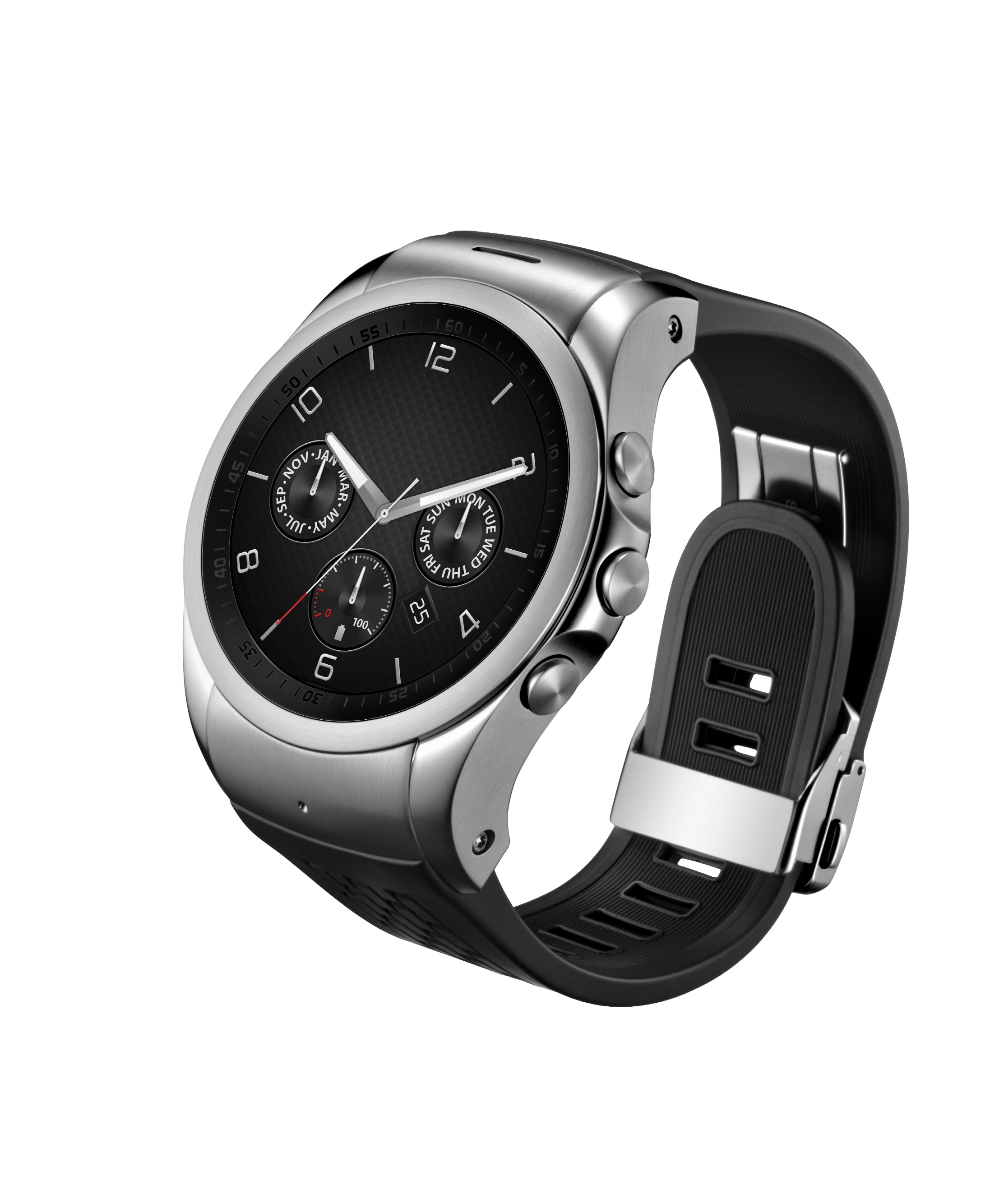 A side view of LG Watch Urbane LTE