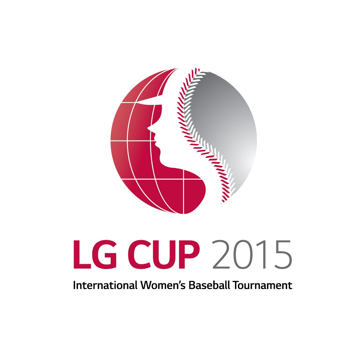 Logo of LG Cup International Women's Baseball Tournament in 2015.