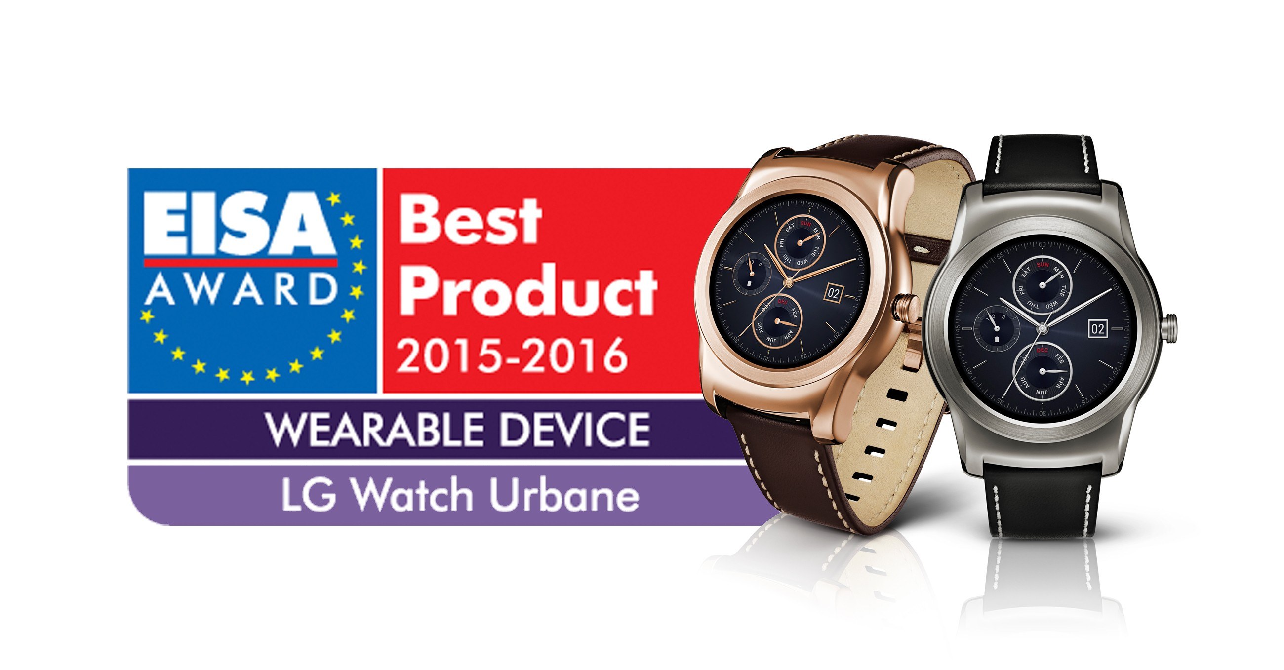 LG Watch Urbane become the European Wearable Device award winner.