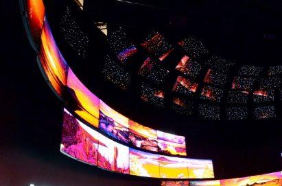The awe-inspiring LG OLED TV ZONE at IFA 2015