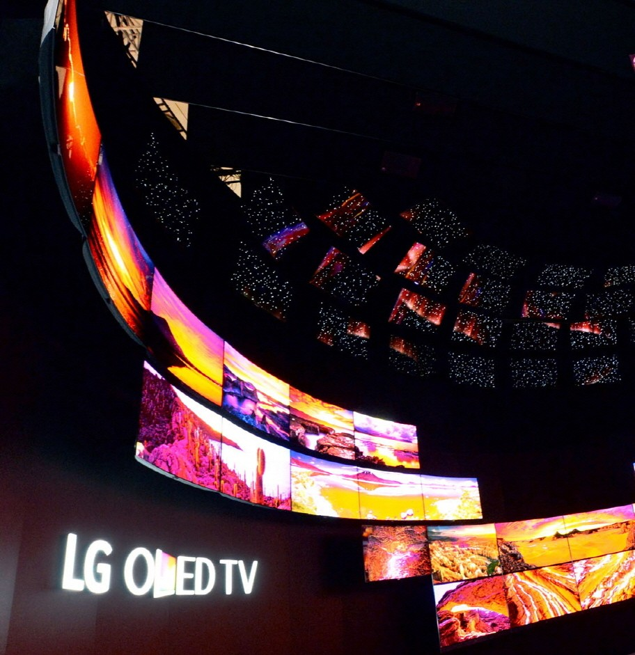 The awe-inspiring LG OLED TV ZONE at IFA 2015
