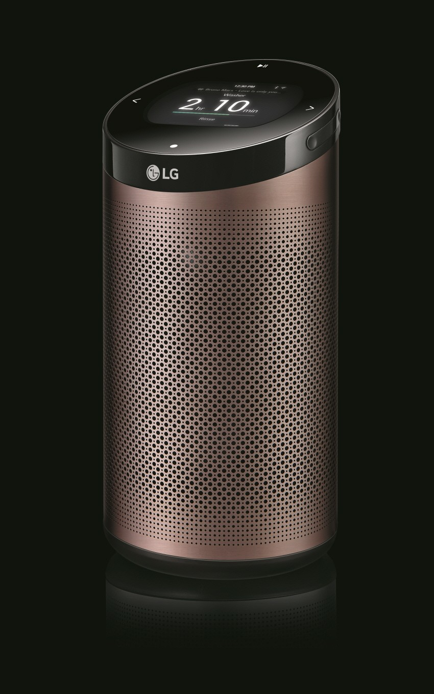 LG SmartThinQ™ Hub in Champaign Gold color