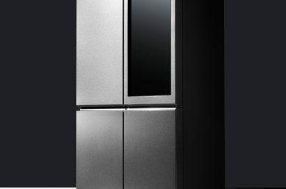 LG SIGNATURE's award-winning Door-in-Door™ design with added Knock-On Door-in-Door feature refrigerator.