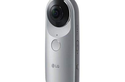 The front, right side view of the LG 360 CAM