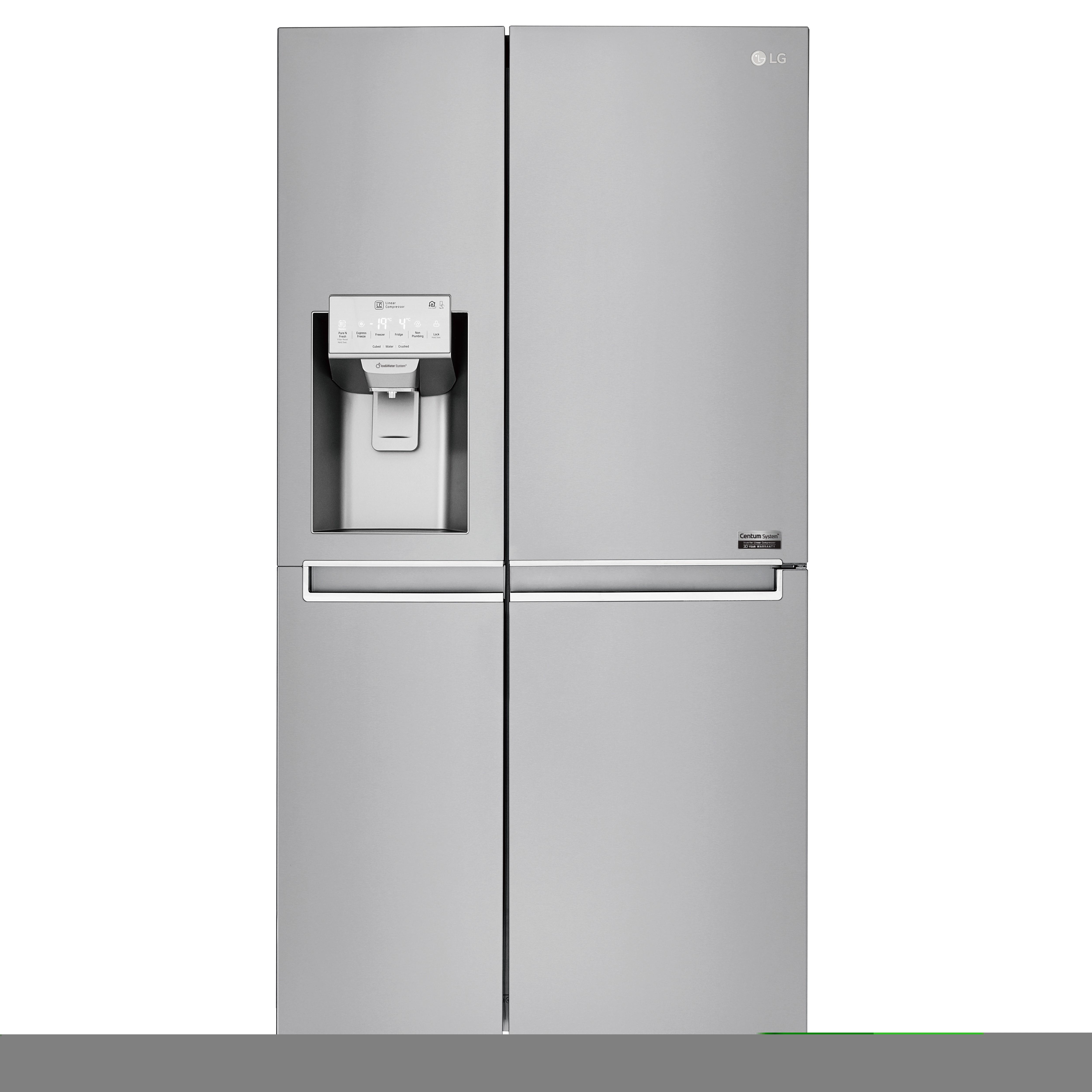 LG Centum System™ refrigerator with Door-in-Door feature