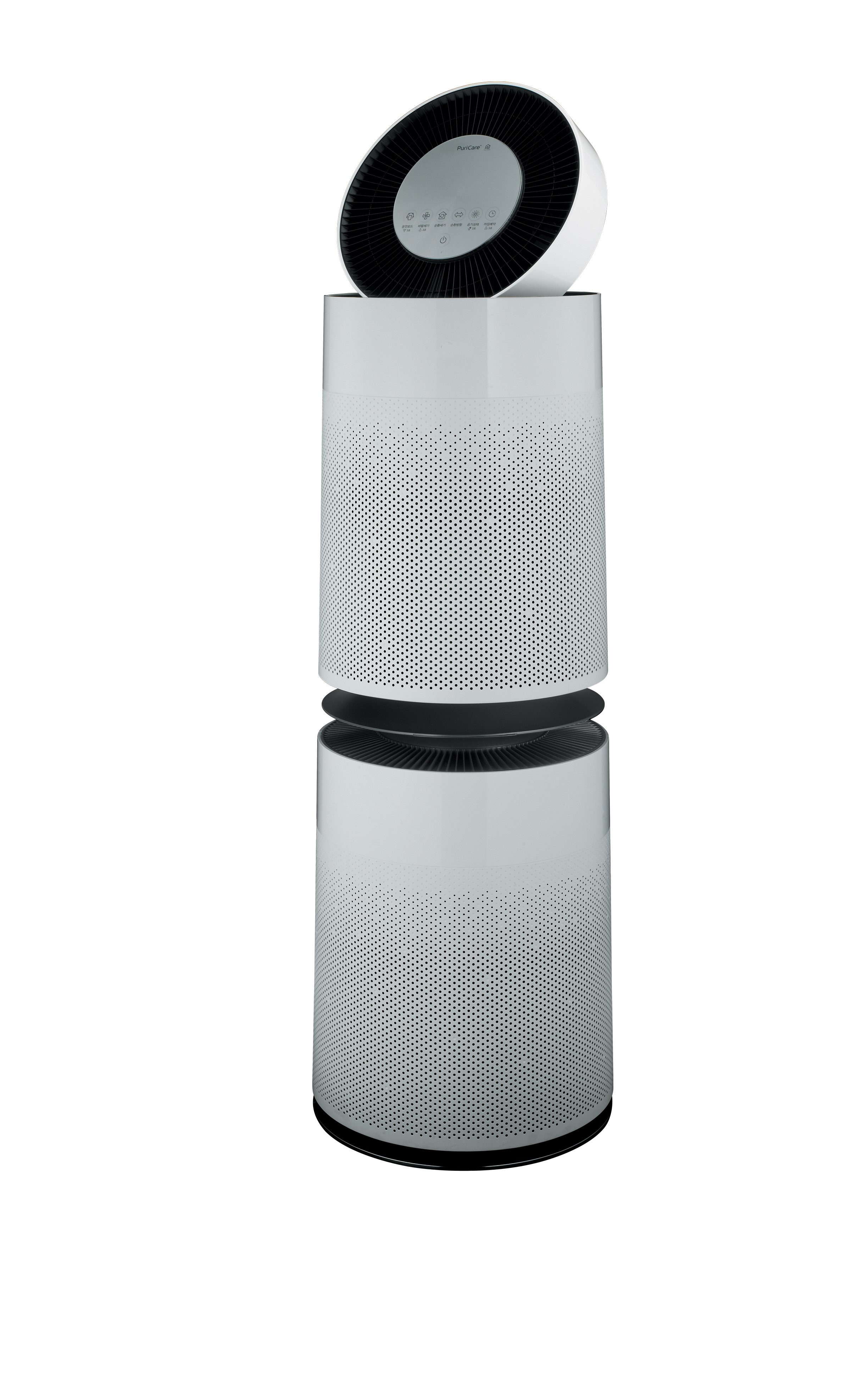 Side view of LG PuriCare 360°