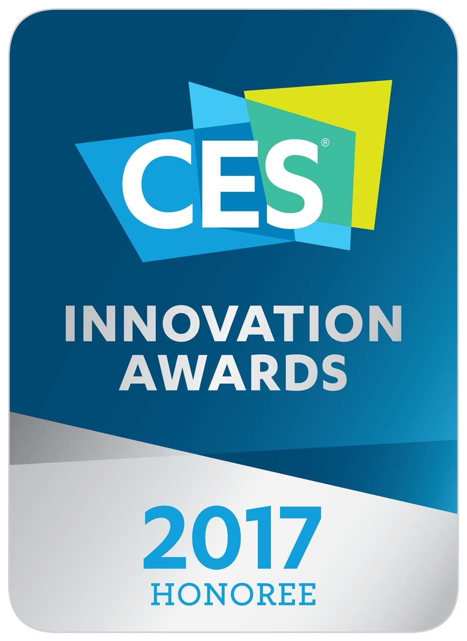 Logo of the CES Innovation Awards 2016 – Honoree.
