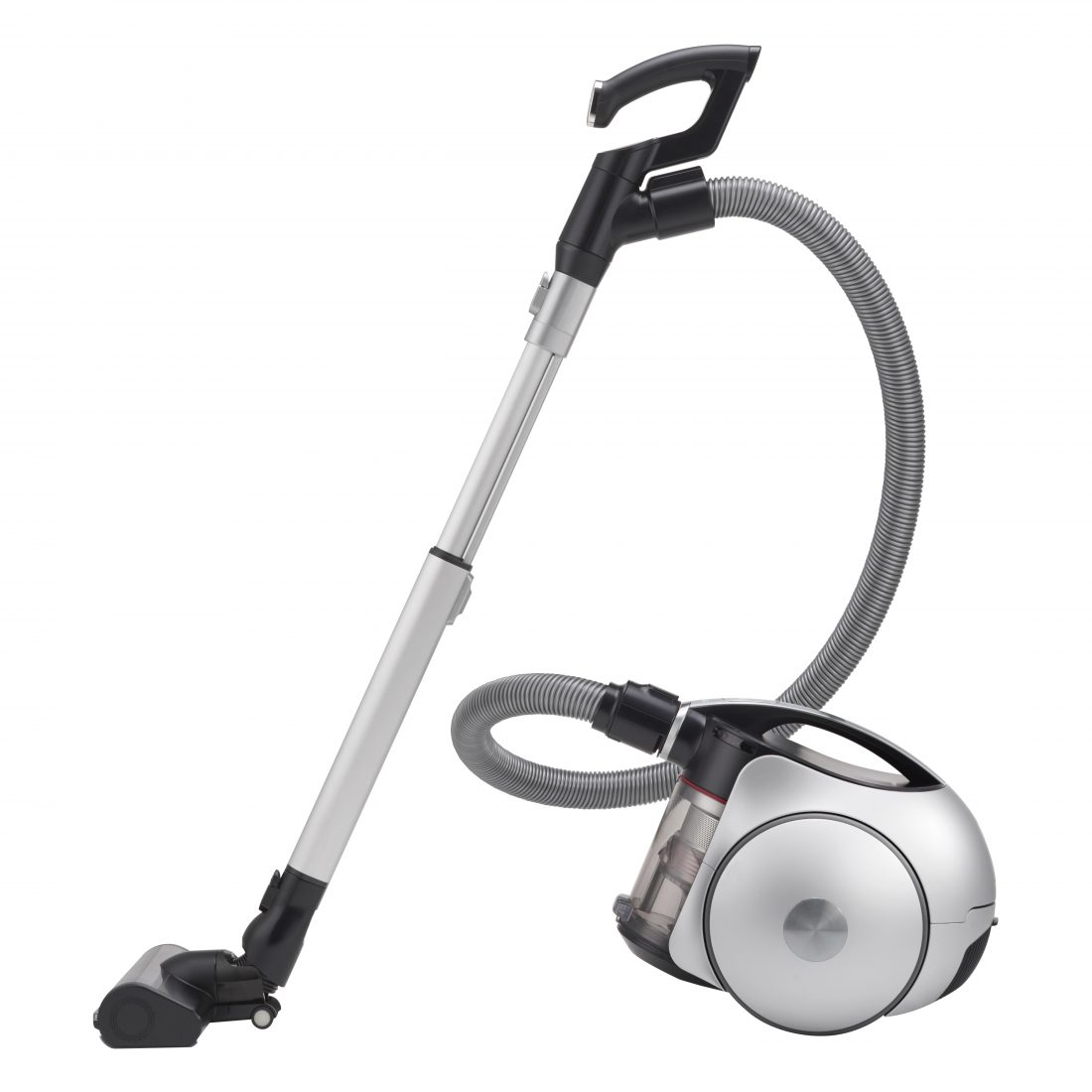 Side view of the LG CordZero Canister vacuum cleaner