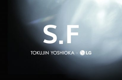 Official image for the collaboration with Tokujin Yoshioka, titled S.F_Senses of the Future.