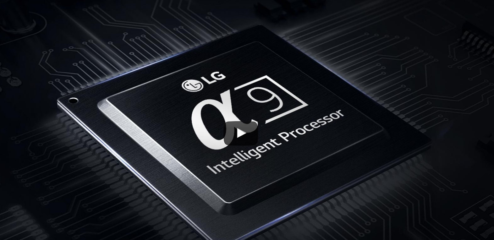 A video clip to introduce the technological advances of LG's new Alpha 9 Intelligent Processor