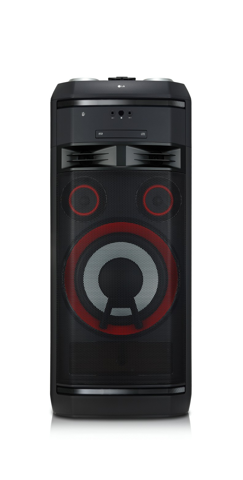 A front view of LG XBOOM model CL100
