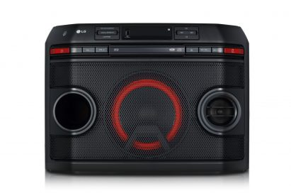 A front view of LG XBOOM model OL45