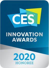 Logo of CES Innovation Awards 2020 – Honoree