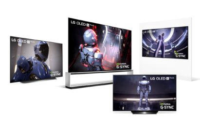 LG's 2020 OLED TV lineup offering NVDIA G-Sync compatibility