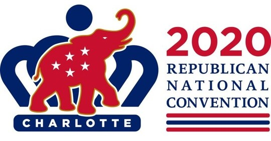Logo of the Charlotte 2020 Republican National Convention