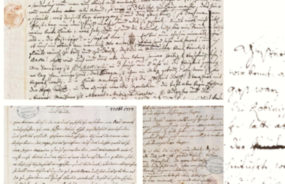 Letters and diary pages that belong to Maria Anna Mozart were used for the project to commemorate her life.